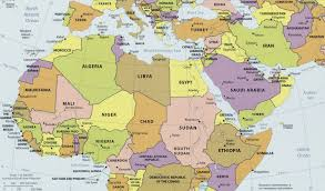 South West Asia Map by Map Of North Africa And Southwest Asia Map Of North Africa Map