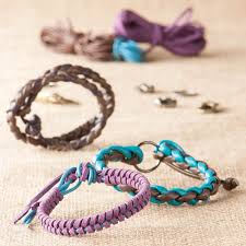 bracelet braid kit images Suede braid leatherette creation kit battat jpg