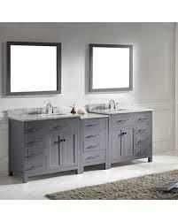Sale Bathroom Vanity by Here U0027s A Great Price On Virtu Usa Caroline Parkway 93 Inch Double