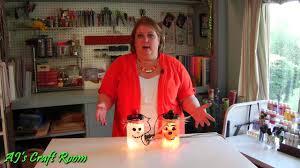 lighted holiday jars aj u0027s craft room youtube