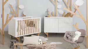 idee deco chambre bébé fille belgique murale duo interieure lit geuther idee mobilier pas fille