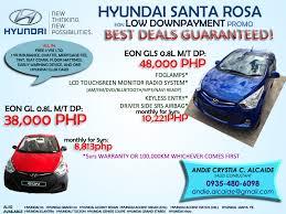 hyundai santa rosa hyundai santa rosa laguna best deal promos fast approval