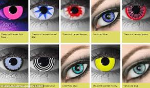 beware novelty contact lenses how the popular halloween