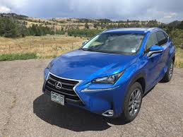 lexus nx blue 2016 lexus nx 300h the weekend drive