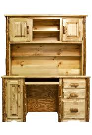 pine log office furniture