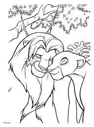 lion king coloring free download