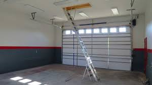 garage attic ladder metal u2014 new interior ideas tidy garage attic