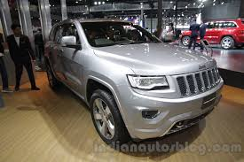 jeep grand cherokee front grill jeep grand cherokee auto expo 2016 live