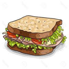 hd turkey sandwich clip art design free vector art images
