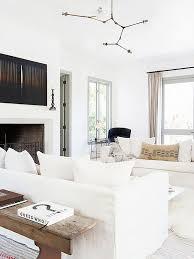 Best  Linen Sofa Ideas On Pinterest Linen Couch White Corner - Living room with white sofa