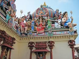 roof decorations colourful hindu temple roof decorations picture of sri