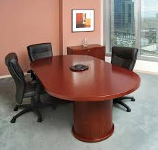 Racetrack Boardroom Table Mira Collection Furnishings By Mayline Group