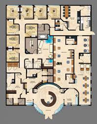 flooring spa floor plan gallery of naman mia design studio green