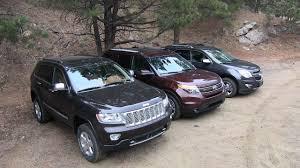 2013 chevy equinox v ford explorer v jeep grand cherokee off road