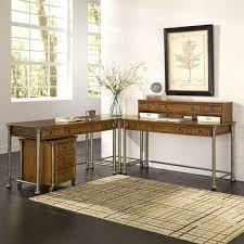 Corner L Desk The Orleans Corner L Desk And Mobile File By Home Styles Free