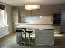 meuble cuisine central table ilot cuisine centrale 0 cuisine 233quip233e bois avec