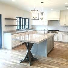 Pendulum Lights For Kitchen Pictures Of Kitchen Islands With Seating For 6 Island Table