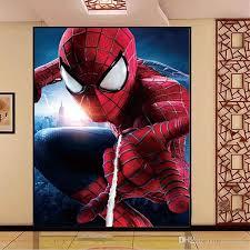 Spiderman Wallpaper For Bedroom Amazing Spider Man Photo Wallpaper Superhero Wallpaper 3d View Art