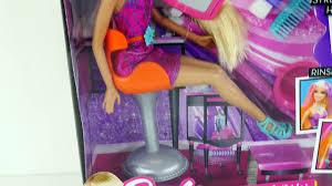 barbie color stylin u0027 hair salon color changing barbies beauty