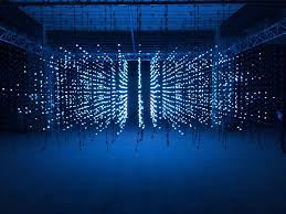 led light installation near me squidsoup s led light installation art in 3d pinterest light