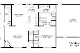 simple open ranch floor plans style villa maria house large open