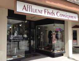 affluent finds luxury consignment for women resale stores and