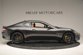 maserati yellow 2017 maserati granturismo sport stock m1633 for sale near