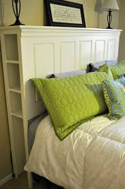Old Door Headboards For Sale by Get 20 Headboard With Shelves Ideas On Pinterest Without Signing