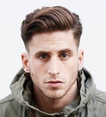 wavy short hairstyles for men fade haircut