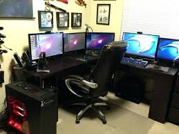 cheap gaming computer desk desk ultimate gaming desktop computer dual monitor computer desks