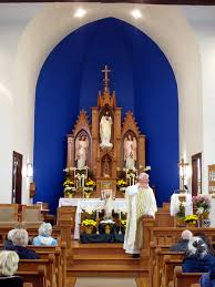 Easter Decorations For Catholic Church by File Saint Ann Catholic Church Dresden Ohio Sanctuary With