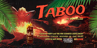taboo tropical cocktail party events nightlife whiteline bk