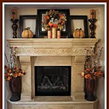 Decorating The Fireplace Brick And Tile Decorated With A