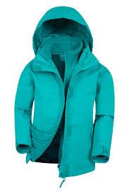kids 3 in 1 jackets boys girls 3 in 1 coats mountain