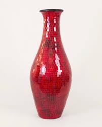 idee deco pour grand vase en verre grand vase décoratif avec mosaiques de verre 100 cm céramique
