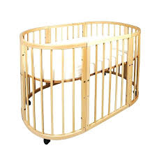 Bassinet Converts To Crib Oval Cribs Luxurious Oval Crib Bedding By Decor Oval Baby