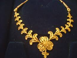 gold necklace jewellery images Gold necklace jewellerydesigner gold jewellery diamond pendants jpg