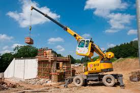 mobile crane telescopic construction lifting 613 m