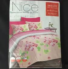Akemi Bed Linen - bnip nice by akemi queen sakura bedsheet set home u0026 furniture on