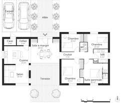 plan de chambre avec dressing et salle de bain plan suite parentale avec salle de bain et dressing