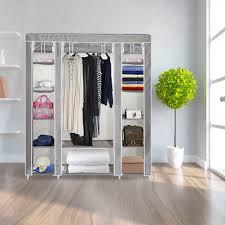durable 210d oxford fabric storage clothes closet sturdy diy