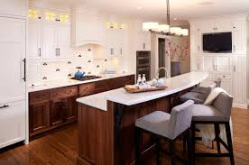 white cabinets brown lower cabinets in kitchen lower cabinets white houzz