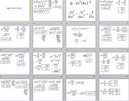 Radicals And Rational Exponents Worksheet Answers Algebra Ii Files Functions U0026 Radicals U2013 Insert Clever Math Pun Here