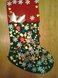 Homemade Christmas Stockings by Funky Frugal Mommy Homemade Christmas Gift Felt Stockings
