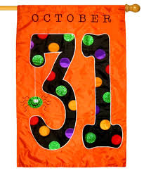 halloween rug october 31 glitter applique house flag house flags halloween