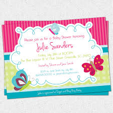 baby girl shower invitations butterfly baby shower invitations butterflies gender