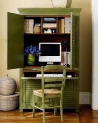 green computer desk foter