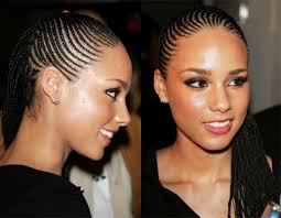 straight back hairstyle alicia keys different straight back hairstyles alicia keys braids