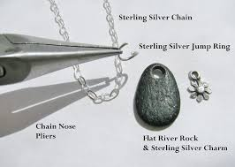 make silver necklace images Make a simple dainty sterling silver necklace rings and things jpg