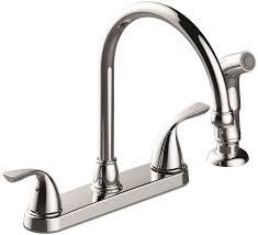 premier kitchen faucets premier 3552601 sanibel two handle kitchen faucet with side spray